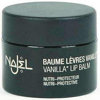 Baume à lèvres au parfum naturel de vanille - Najel Vanilla Lip Balm — Photo N1