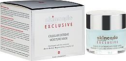 Parfums et Produits cosmétiques Masque cellulaire, hydratation extrême - Skincode Exclusive Cellular Extreme Moisture Mask