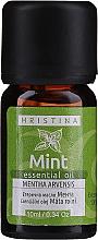Parfums et Produits cosmétiques Huile essentielle de menthe - Hristina Cosmetics Mint Essential Oil