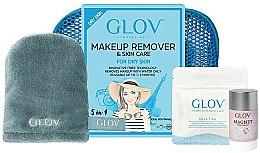 Parfums et Produits cosmétiques Set accessoires démaquillantes - Glov Expert Travel Set Dry Skin (gant/mini/1pcs + gant/1pcs + stick/40g+ trousse de toilette)