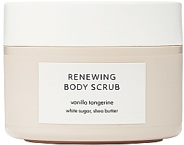Parfums et Produits cosmétiques Gommage au sucre blanc et beurre de karité pour corps, Vanille et Tangerine - Estelle & Thild Vanilla Tangerine Renewing Body Scrub