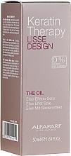 Parfums et Produits cosmétiques Huile élixir effet soie pour cheveux - Alfaparf Lisse Design Keratin Therapy Oil