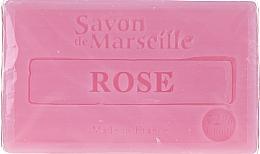 Parfums et Produits cosmétiques Savon de Marseille à la rose - Le Chatelard 1802 Soap Rose