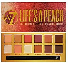 Parfums et Produits cosmétiques Palette de fards à paupières - W7 Life's A Peach Eyeshadow Palette