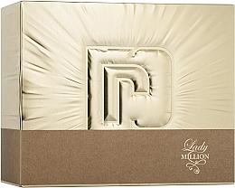 Parfums et Produits cosmétiques Paco Rabanne Lady Million - Coffret (eau de parfum/50ml + eau de parfum/10ml + lotion corporelle/75ml)