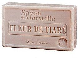 Parfums et Produits cosmétiques Savon de Marseille à la fleur de tiaré - Le Chatelard 1802 Flowers Tiara Soap