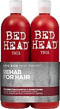 Parfums et Produits cosmétiques Tigi Bed Head Resurrection Shampoo&Conditioner - Set (shampooing/750ml + après-shampooing/750ml)