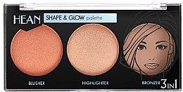 Parfums et Produits cosmétiques Palette contour de visage - Hean Shape & Glow Palette