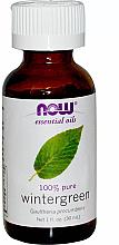 Parfums et Produits cosmétiques Huile essentielle de thé des bois - Now Foods Essential Oils 100% Pure Wintergreen