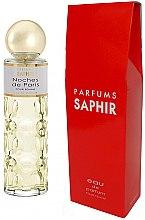Parfums et Produits cosmétiques Saphir Parfums Noches de Paris - Eau de parfum