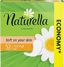 Parfums et Produits cosmétiques Serviettes hygiéniques, 52pcs - Naturella Camomile Normal