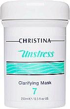Parfums et Produits cosmétiques Masque nettoyant pour le visage, étape 7 - Christina Unstress Step 7 Clarifying Mask