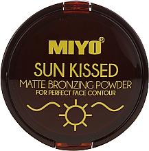 Parfums et Produits cosmétiques Poudre bronzante pour visage - Miyo Sun Kissed Powder
