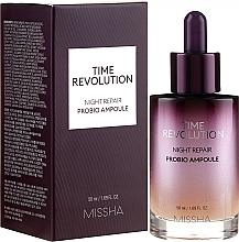 Parfums et Produits cosmétiques Sérum rajeunissante en ampoules - Missha Time Revolution Night Repair Night Repair Probio Ampoule Serum