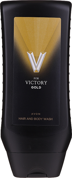 Avon V For Victory Gold Hair And Body Wash - Gel douche parfumé pour cheveux et corps — Photo N1