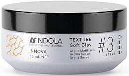 Parfums et Produits cosmétiques Argile matifiante pour cheveux - Indola Innova Texture Soft Clay