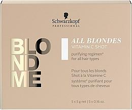 Parfums et Produits cosmétiques Concentré à la vitamine C pour cheveux - Schwarzkopf Professional Blondme All Blondes Vitamin C Shot