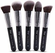 Parfums et Produits cosmétiques Kit pinceaux de maquillage - Nanshy Face Brush Set Black
