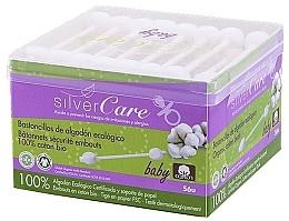 Parfums et Produits cosmétiques Coton-tiges pour enfants 100% coton bio - Silver Care Coton