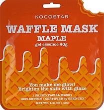 Parfums et Produits cosmétiques Masque tissu à l'extrait d'ananas pour visage - Kocostar Maple Waffle Mask