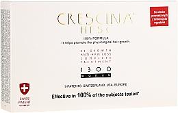 Parfums et Produits cosmétiques Traitement en ampoules pour cheveux - Labo Crescina Re-Growth Anti-Hair Loss Complete Treatment 1300 Woman