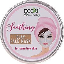 Parfums et Produits cosmétiques Masque à l'extrait de lavande pour visage - Eco U Soothing Clay Face Mask For Sensative Skin