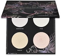 Parfums et Produits cosmétiques Palette d'enlumineurs - London Copyright Magnetic Face Powder Highlight Palette