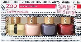 Parfums et Produits cosmétiques Coffret cadeau - Zao Limited Edition Christmas Nail Polish Box
