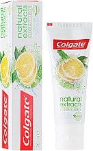Parfums et Produits cosmétiques Dentifrice rafraîchissant - Colgate Natural Extracts Ultimate Fresh Lemon