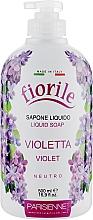 Parfums et Produits cosmétiques Savon liquide pour mains et corps, Violette - Parisienne Italia Fiorile Violet Liquid Soap