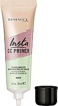 Parfums et Produits cosmétiques Base correctrice de couleur neutralisante les rougeurs - Rimmel Insta CC Primer Colour Correcting