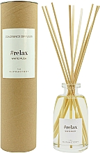 Parfums et Produits cosmétiques Bâtonnets parfumés, Musc blanc - Ambientair The Olphactory Relax White Musk