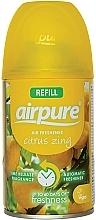 Parfums et Produits cosmétiques Recharge aérosol pour diffuseur de parfum automatique, L'énergie des agrumes - Airpure Air-O-Matic Refill Citrus Zing