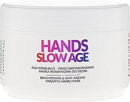 Parfums et Produits cosmétiques Masque éclaircissant et anti-âge à la paraffine pour mains - Farmona Professional Hands Slow Age Brightening And Anti-ageing Paraffin Hand Mask