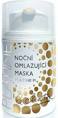 Masque de nuit rajeunissant - Le Chaton Night Rejuvenating Face Mask Platine M — Photo N1