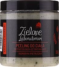 Parfums et Produits cosmétiques Gommage nettoyant au romarin et persil pour corps - Zielone Laboratorium