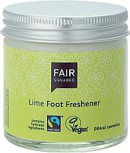 Parfums et Produits cosmétiques Crème vegan à l'huile de lime pour pieds - Fair Squared Lime Foot Freshener