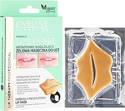 Parfums et Produits cosmétiques Masque-gel hydratant pour les lèvres - Eveline Cosmetics Lip Therapy S.O.S. Expert Intensely Moisturising Lip Mask