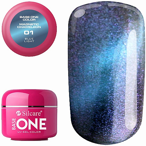 Gel pour ongles - Silcare Base One Magnetic Chameleon UV Gel Color