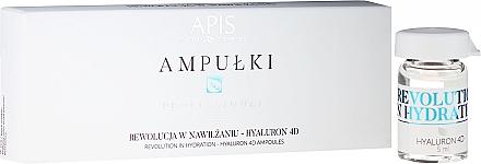 Ampoules pour visage - APIS Professional 4D Hyaluron Concentrate Ampule