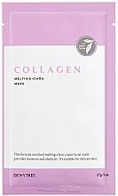 Parfums et Produits cosmétiques Masque au collagène pour visage - Dewytree Collagen Melting Chou Mask