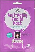 Parfums et Produits cosmétiques Masque tissu anti-aĝe - Cettua Anti-Aging Facial Mask
