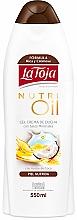Parfums et Produits cosmétiques Crème de douche aux sels minéraux et huile de coco - La Toja Hidrotermal Nutri Oil Shower Gel