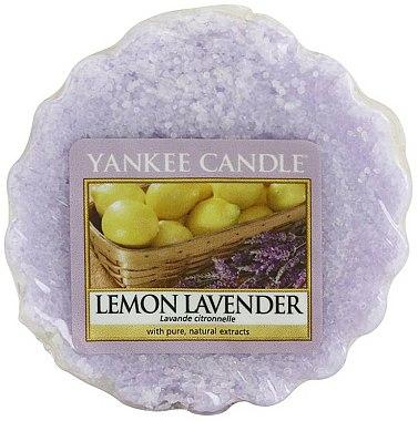 Tartelette de cire parfumée Lavande et citronnelle - Yankee Candle Lemon Lavender Tarts Wax Melts