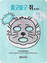Parfums et Produits cosmétiques Masque tissu aux extrairs d'aloès et concombre - Skin79 Animal Mask