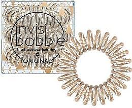 Parfums et Produits cosmétiques Élastiques à cheveux, 3 pcs. - Invisibobble Original Bronze Me Pretty