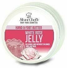 Parfums et Produits cosmétiques Beurre pour mains et pieds, Gelée de rose blanche - Stani Chef's Hand And Foot Butter White Rose Jelly