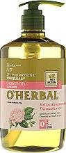 Parfums et Produits cosmétiques Gel douche énergisant à l'extrait de rose de Damas - O'Herbal Toning Shower Gel