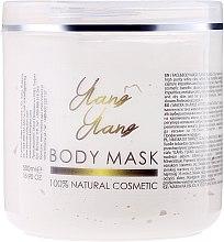 Parfums et Produits cosmétiques Masque à l'argile blanche et huile d'ylang ylang pour visage et corps - Sezmar Collection Professional Body Mask Ylang Ylang