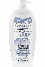 Parfums et Produits cosmétiques Lait de douche aux protéines de lait - Byphasse Caresse Shower Cream